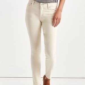 Luck Brand Mid-Rise Corduroy skinny jeans size 29